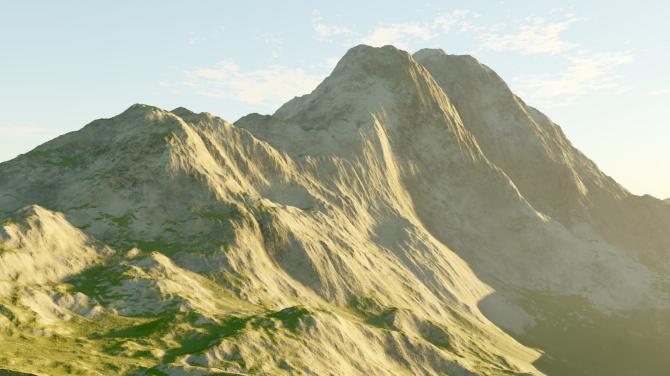 Alpine Scene 02